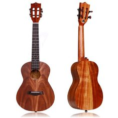 Kaka KUC/T-KAD 23 Inch 26 Inch Full Solid Koa Ukulele with Gig Bag