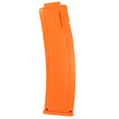WORKER Toy 22Darts Plastic AK Style AK Clip Magazine For Nerf Replacement Accessory Toys Orange