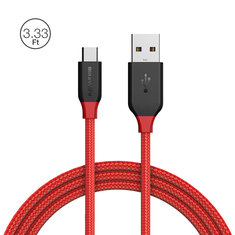 BlitzWolf® Ampcore BW-MC4 2.4A Micro USB Braided Cable 3.33ft/1m for Samsung S7 Redmi Note 4