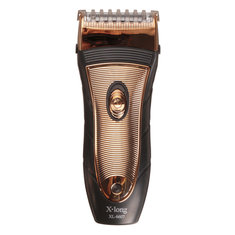 Men Golden Rechargeable Shaver Vintage Electric Razor Cordless Facial Trimmer