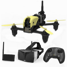 Hubsan H122D X4 STORM 5.8G FPV Micro Racing Drone Quadcopter With 720P Camera HV002 Googles