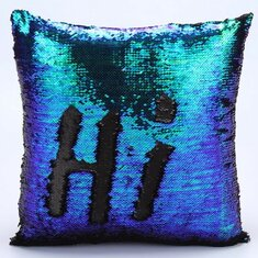 Домашний текстиль Reversible Sequin Mermaid Pillowcase