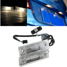 Car Rear Trunk Switch Assembly License Plate Lamp Light For Chevrolet Cruze