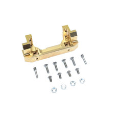 Copper Front Bumper Mount Gold For Servo Mount Seat Traxxas TRX-4 RC Car Parts