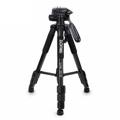 Zomei Q111 Professional Portable Aluminium Tripod Camera Stand with 3-way Pan Head for Digital DSLR