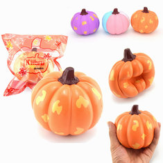 Kiibru Squishy Pumpkin Vegetable 12cm Slow Rising With Original Packaging Gift Collection
