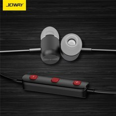 JOWAY H10 Wireless Bluetooth 4.1 Magnetic Sports Stereo Headphone with Mic