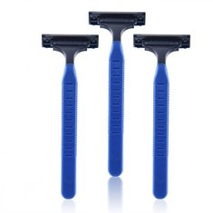 3Pcs YINGJILI 221 Disposable Men Shaving Double layers Razor Travel Shaver