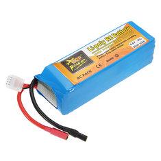 ZOP Power 9.6V 5000mAh 30C Lipo Battery 5.5mm Bullet Plug for 1/8 1/10 RC Car