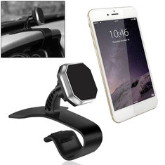 Universal Magnetic Car Dashboard Mount Phone Holder Stand HUD for iPhone Samsung Xiaomi GPS