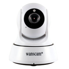 Wanscam HW0036 WiFi 720P Pan Tilt ONVIF IR Cut Indoor Two-way Audio IP Camara Support ONVIF TF Card
