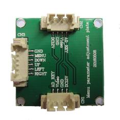 DC12V OSD Board Menu Parameter Adjustment Plate for HS1177 EFFIO-E FPV Camera