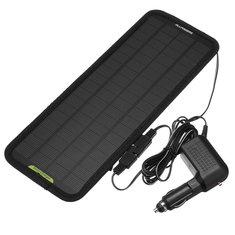 12V 4.5W Portable Car Solar Panel Battery Power Backup Charger for Car Boat
