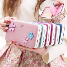 Prettyzys Universal Functional Wallet Zipper Case Bag For Less Than 6-Inch Smartphone