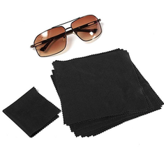 50pcs 15X15cm Eyeglasses Reading Glasses Cleaning Cloth Camera Phone Screen Cleaner