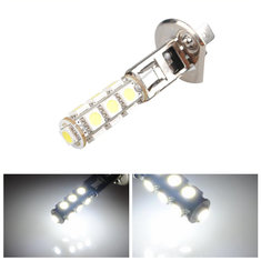 Car H1 White 5050 SMD 13 LED Bulb Head Fog Light Lamp