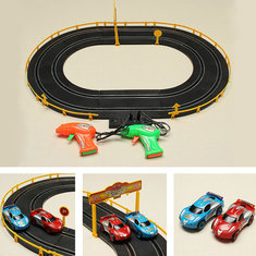 HZ Wire Control Electromagnetic Roadster Track Toy Double Competitive Toys