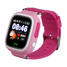 Q90 1.22 inch Touch Screen Smart Baby Watch GPS Tracker for Kids  Smartwatch Anti Lost with SOS