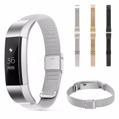Stainless Steel Watch Band Metal Mesh Strap For Fitbit Alta