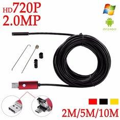 DANIU A99 720P 2MP 6LED 8.0mm Lens Waterproof Android/PC Endoscope Inspection Borescope Tube Camera
