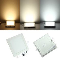 18W Square Dimmable Ultra Thin Ceiling Energy-Saving LED Panel Light