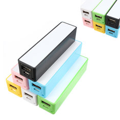Portable Mobile Power USB 18650 DIY Battery Charger For Phone MP3