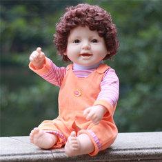 Reborn Doll 50CM Full Silicone Vinyl Body Children Play House Toys Bebe Gift Dolls  Action Figure