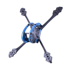 Lisamrc LS-X220 220mm Wheelbase 5mm Arm Carbon Fiber Frame Kit for RC Drone FPV Racing 110g