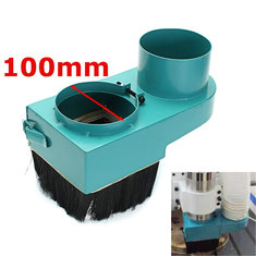 100mm Spindle Dust Cover Dustproof Shoe Vacuum Cleaner For Woodwork CNC Router