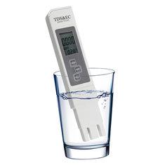 3In1 EC-1 Water Quality Test Meter Digital TDS EC Conductivity Tool 0-9990 ppm