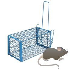 Folding Human Rat Cage Trap Snap Humane Safe Mouse Rodent LiveAnimal Indoor Outdoor