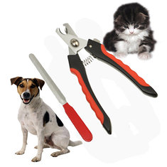 Stainless Steel Pet Dog Cat Nail Toe Trimmer Clipper Grooming Tool Safety Cutter Claws Scissor