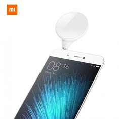 Original Xiaomi Selfie Light 9 LED 3.5mm Camera Flashlight for IOS Android Samsung Xiaomi