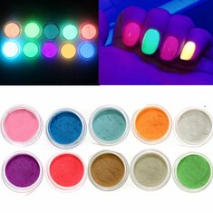 10 Colors Glow In The Dark