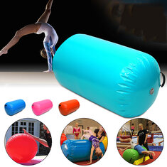 65CM Inflatable Air Track Home Roller Small Gymnastics Cylinder Gym Training