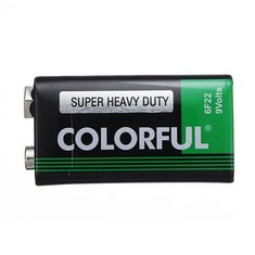 Universal COLORFUL 800mah 9V Battery for Multimeter Thermometer etc