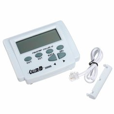 FSK / DTMF Caller ID Box + Cable Mobile Phone Adjustable LCD Display
