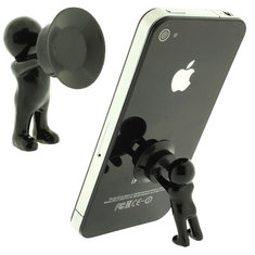 Cute Little People Shape Stand Holder For iPhone Smartphone Device