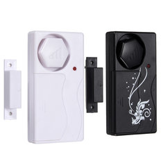 Home Security Door Window Alarm System With Magnetic Siren 110db+Remote Control