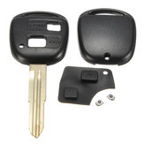 Remote Key Shell Rubber Pad Switches Blade Repair Kit For Toyota Yaris