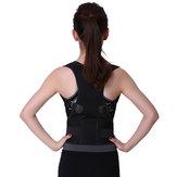 Adjustable Hunchbacked Posture Corrector Lumbar Back Support Brace Shoulder Band Belt