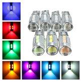 T10 LED Error Free Canbus 5630SMD Lens Xenon White W5W Side Light Bulb