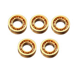 Original 5pcs R188 6.35×12.7×4.762mm Oro teniendo
