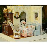 Original DIY Dollhouse Handicraft Doll House Mary's Sweet Baking Miniatura Kit de regalo