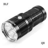 BLF Q8 4x XP-L 5000LM Professional Multiple Operation Procedure Super Bright LED Flashlight