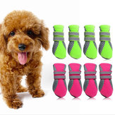 Pet Shoes Dog Puppy Casual Boots Stock Water Repellent Anti-Slip Protective Booties Breathable Shoes