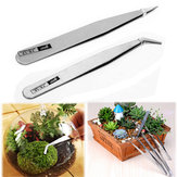 Garden Micro Landscape DIY Tweezer Stainless Steel Succulent Plants Diamond Painting Tool