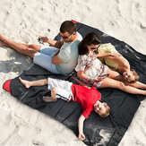 Honana HN-PB007 Foldable Outdoor Playmat Travel Pocket Blanket Lightweight Portable Beach Picnic Mat