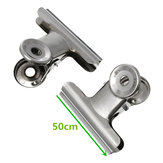 50mm Strong Stainless Steel Round Clip Office Invoice Clip