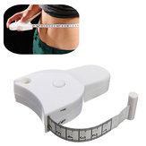 Accurate Fitness Body Tape Measuring Waist Retractable Ruler Measure 150cm